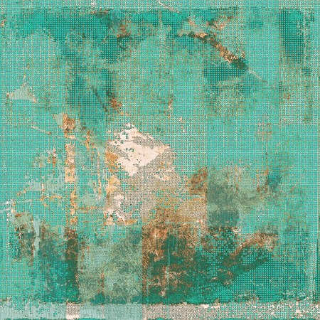 obscure: Aging grunge texture, old illustration. With different color patterns: yellow (beige); brown; blue; cyan