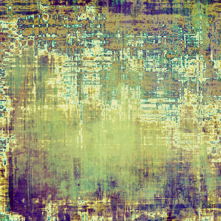blemish: Vintage antique textured background. With different color patterns: yellow (beige); brown; green; blue; purple (violet)