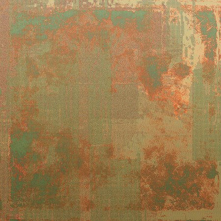 corrosion: Abstract retro design composition. Stylish grunge background. With different color patterns: yellow (beige); brown; green; red (orange); gray