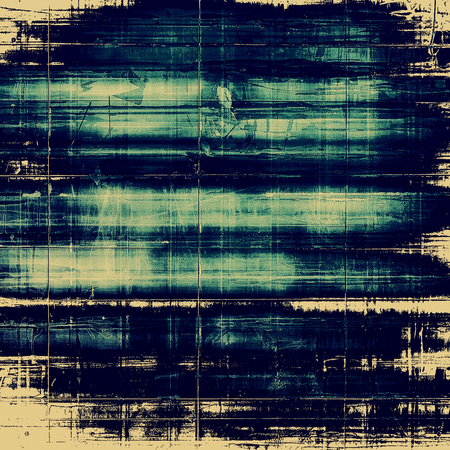 shadowy: Colorful abstract retro background, aged vintage texture. With different color patterns: yellow (beige); blue; cyan Stock Photo