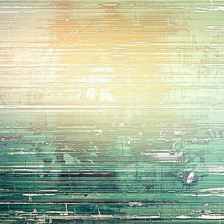 shadowy: Background with grunge elements on vintage style old texture. With different color patterns: yellow (beige); brown; green; cyan; gray
