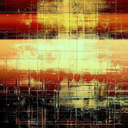 shadowy: Art grunge background or texture. With different color patterns: yellow (beige); brown; red (orange); black Stock Photo