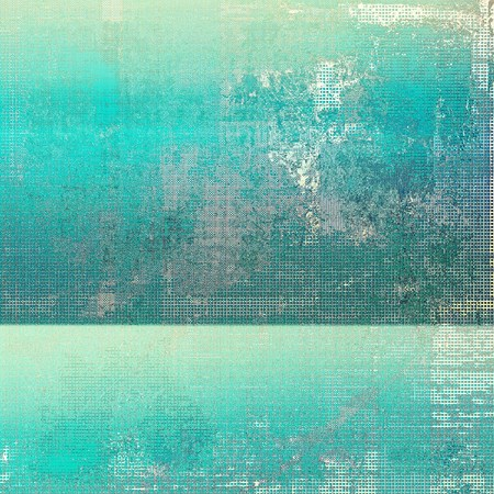 gray thread: Abstract grunge damaged background or texture. With different color patterns: yellow (beige); blue; cyan; gray