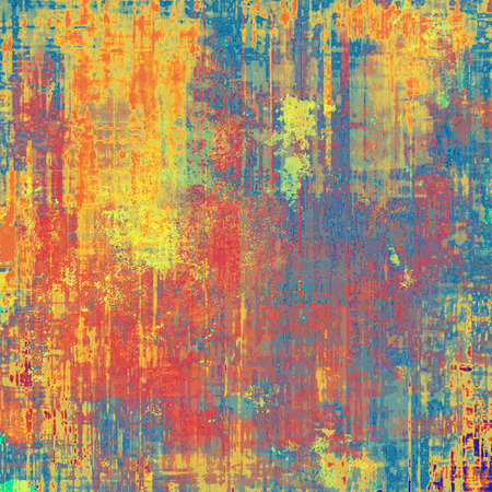grunge banner: Grunge background with delicate aged texture. With different color patterns: yellow (beige); blue; red (orange); cyan; pink