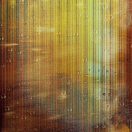 dull: Retro texture, shabby and ragged background in grunge style. With different color patterns: yellow (beige); brown; red (orange); gray; cyan Stock Photo