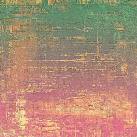 mottled: Retro style grunge background, mottled vintage texture. With different color patterns: green; yellow (beige); purple (violet); red (orange); pink Stock Photo