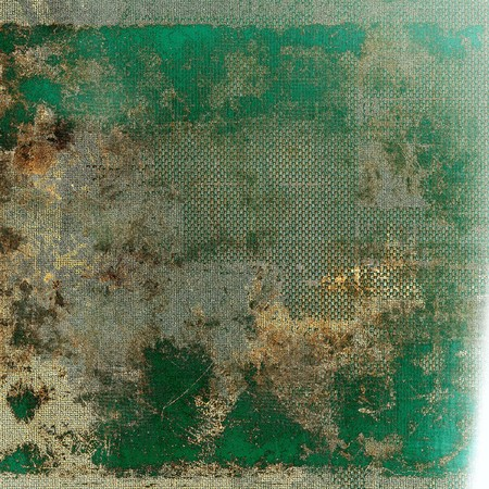 mottled: Retro style grunge background, mottled vintage texture. With different color patterns: green; yellow (beige); brown; gray; cyan