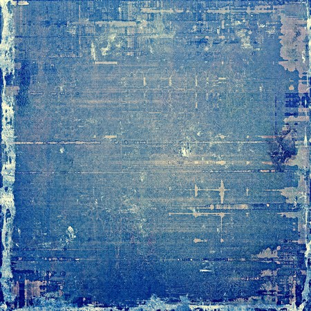 blue grey: Traditional grunge background, scratched texture with vintage style design and different color patterns: blue; white; gray; cyan