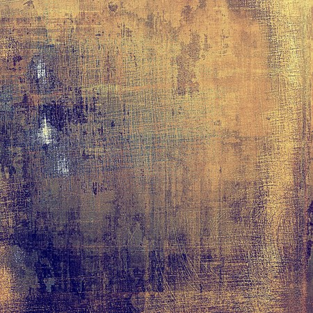smudged: Retro style abstract background, aged graphic texture with different color patterns: blue; yellow (beige); brown; purple (violet); gray Stock Photo