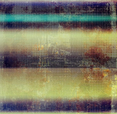 mottled: Vintage mottled frame, textured grunge background with different color patterns: yellow (beige); brown; blue; purple (violet); black
