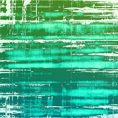 urban decay: Colorful abstract retro background, aged vintage texture. With different color patterns: green; blue; white; cyan Stock Photo