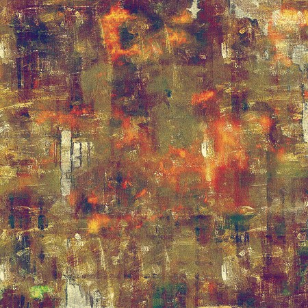 green brown: Abstract colorful background or backdrop with grunge texture and different color patterns: yellow (beige); brown; green; red (orange); purple (violet)