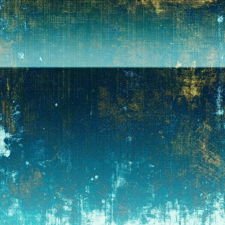 urban decay: Retro background, antique texture for abstract vintage design composition. With different color patterns: yellow (beige); blue; white; cyan