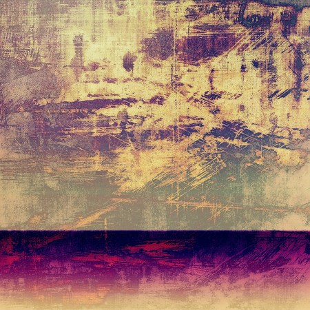 oldest: Oldest vintage background in grunge style. Ancient texture with different color patterns: yellow (beige); brown; purple (violet); pink; gray