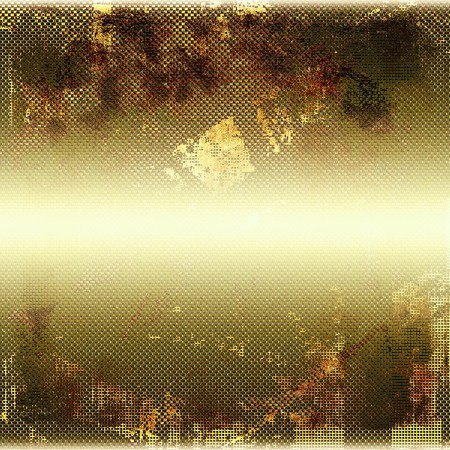 crosshatch: Retro background, antique texture for abstract vintage design composition. With different color patterns: yellow (beige); brown; green; white Stock Photo