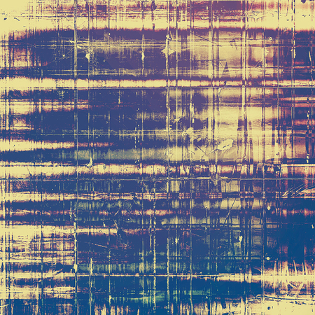 pavement: Old vintage backdrop. Original background or aged texture with different color patterns: yellow (beige); blue; purple (violet); pink; gray Stock Photo