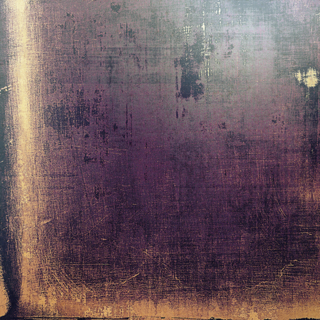 degraded: Vintage elegant background, creased grunge backdrop with aged texture and different color patterns: yellow (beige); brown; purple (violet); black; gray