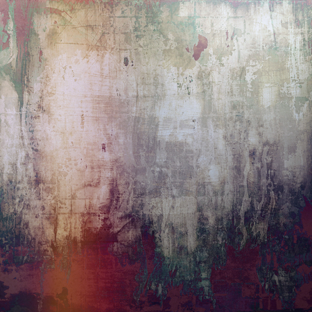 violet red: Old abstract texture used as shabby grungy background. With different color patterns: brown; green; purple (violet); red (orange); gray