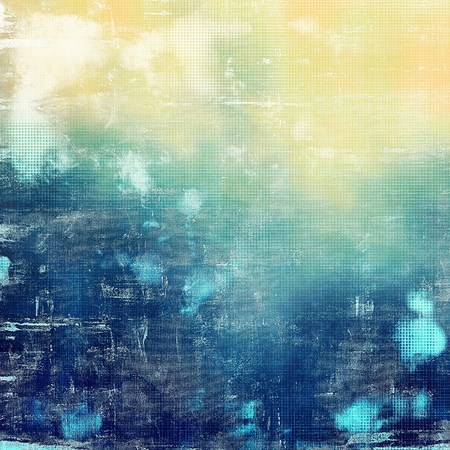 crosshatching: Veined grunge background or scratched texture with vintage feeling and different color patterns: yellow (beige); blue; white; cyan