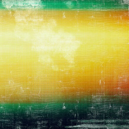 mottled: Mottled vintage background with grunge texture and different color patterns: yellow (beige); red (orange); green; black; white