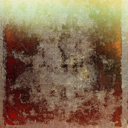 veined: Veined grunge background or scratched texture with vintage feeling and different color patterns: yellow (beige); brown; gray; red (orange); green Stock Photo