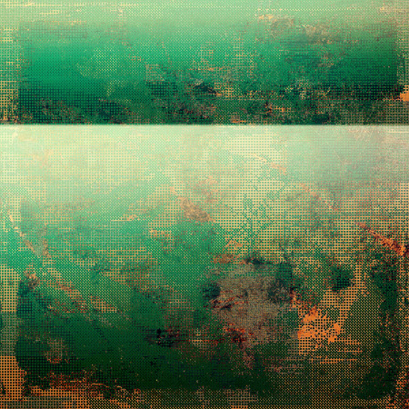 mottled: Vintage mottled frame, textured grunge background with different color patterns: yellow (beige); brown; gray; red (orange); green