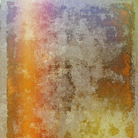 blemish: Retro design on grunge background or aged faded texture. With different color patterns: yellow (beige); brown; gray; red (orange); purple (violet)