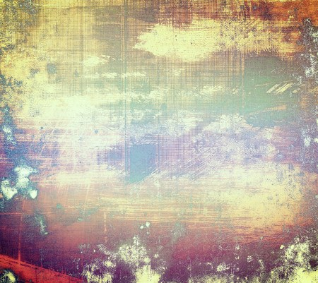 faded: Distressed texture, faded grunge background or backdrop. With different color patterns: yellow (beige); brown; red (orange); purple (violet); pink Stock Photo