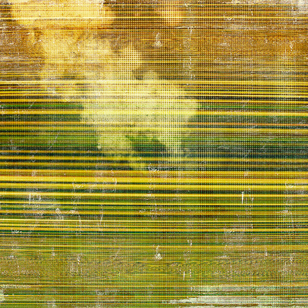 eroded: Abstract grunge weathered background of vintage texture. With different color patterns: yellow (beige); brown; green; gray