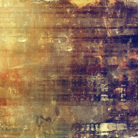 tincture: Abstract grunge background or aged texture. Old school backdrop with vintage feeling and different color patterns: yellow (beige); brown; red (orange); gray; purple (violet)