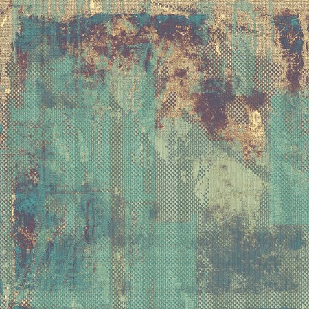 pale yellow: Grunge background or vintage texture in traditional retro style. With different color patterns: yellow (beige); brown; blue; gray; cyan
