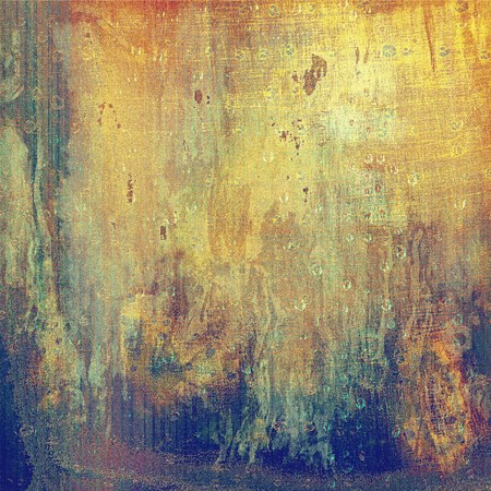 pale yellow: Vintage decorative background, antique grunge texture with different color patterns: yellow (beige); brown; blue; red (orange); gray; cyan