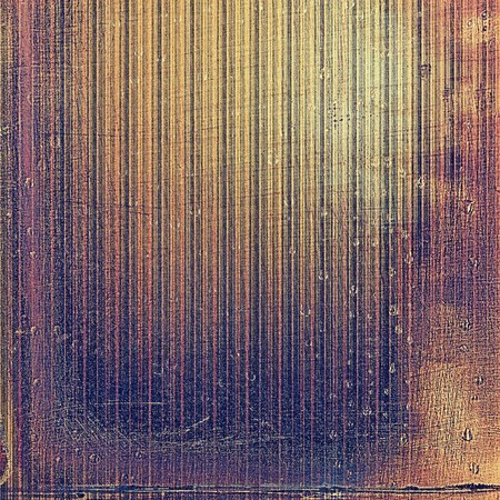 shadowy: Highly detailed scratched texture, aged grungy background. Vintage style composition with different color patterns: yellow (beige); brown; red (orange); gray; purple (violet); pink Stock Photo