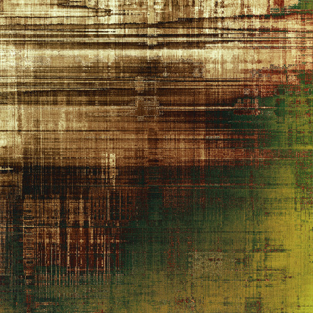 pale yellow: Decorated texture, antique vintage background with different color patterns: yellow (beige); brown; green; gray; black