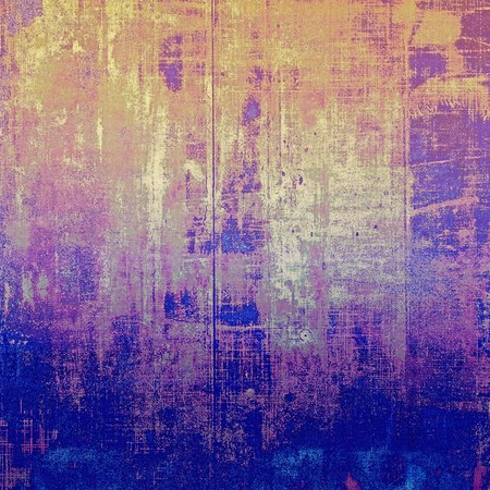 shadowy: Vintage background - dirty ancient texture. Antique grunge backdrop with different color patterns: yellow (beige); brown; blue; gray; purple (violet); pink