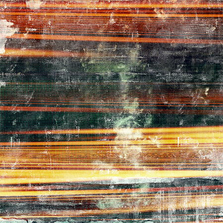 corrosion: Vintage style shabby texture or background with classy grungy elements and different color patterns: yellow (beige); brown; green; red (orange); black; white