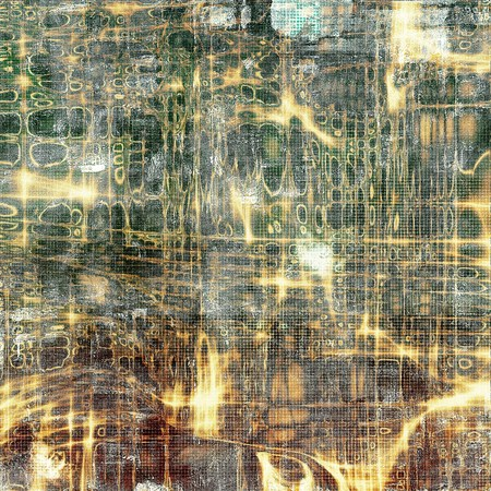 shadowy: Abstract colorful background or backdrop with grunge texture and different color patterns: yellow (beige); brown; green; gray; black