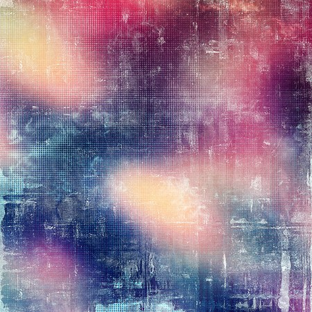 exceptional: Grunge retro texture, aged background with vintage style elements and different color patterns: yellow (beige); blue; red (orange); purple (violet); pink