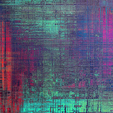 worn structure red: Vintage design background - Grungy style ancient texture with different color patterns: gray; blue; red (orange); purple (violet); pink; cyan