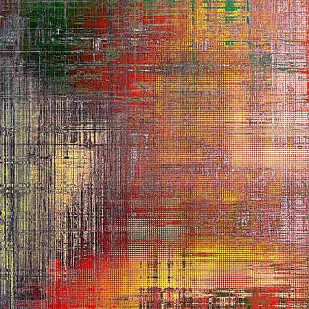 nice looking: Nice looking grunge texture or abstract background. With different color patterns: yellow (beige); brown; gray; green; red (orange); pink