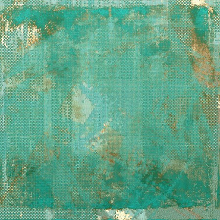 Elegant vintage background, antique texture. Designed grunge template with different color patterns: yellow (beige); brown; gray; blue; cyan Stock Photo