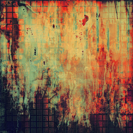 pink and black: Retro abstract background, vintage grunge texture with different color patterns: yellow (beige); brown; red (orange); pink; black; cyan Stock Photo