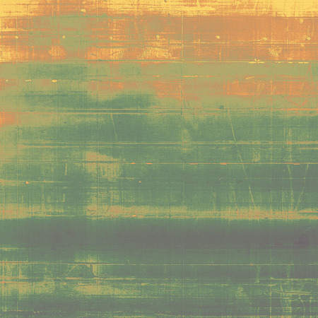 grained: Retro style texture for your layouts. Grunge background with different color patterns: yellow (beige); brown; gray; green; red (orange)