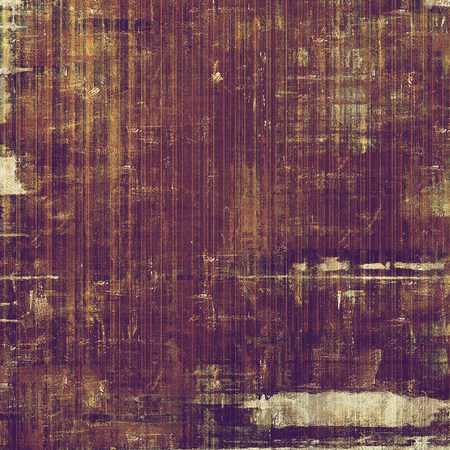 degraded: Sharp textured background, aged vintage backdrop with grungy style elements and different color patterns: yellow (beige); brown; gray; purple (violet); pink Stock Photo