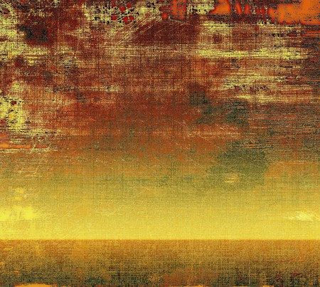 crosshatch: Abstract grunge background or aged texture. Old school backdrop with vintage feeling and different color patterns: yellow (beige); brown; gray; red (orange); pink