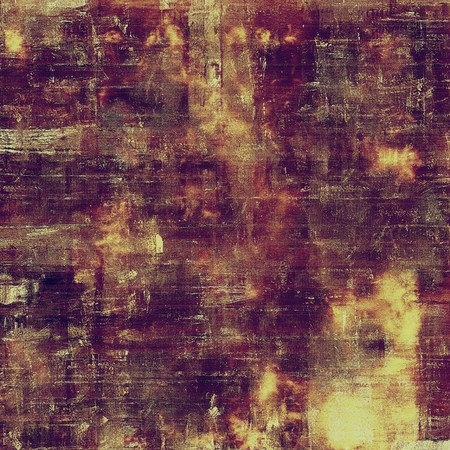 eroded: Stylish grunge texture, old damaged background. With different color patterns: yellow (beige); brown; gray; purple (violet); pink Stock Photo
