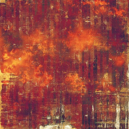 eroded: Old style design, textured grunge background with different color patterns: yellow (beige); brown; red (orange); purple (violet); pink Stock Photo