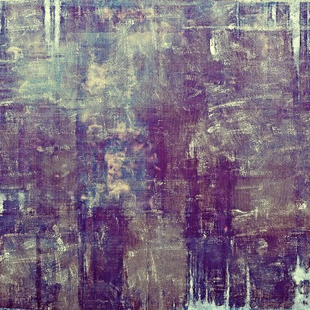 corrosion: Retro abstract background, vintage grunge texture with different color patterns: brown; gray; blue; purple (violet); pink Stock Photo
