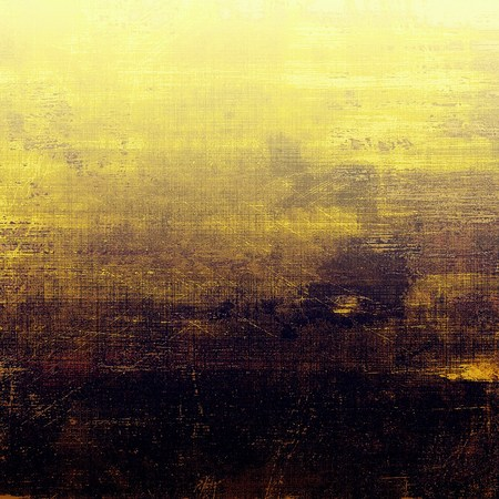 eroded: Grunge retro composition, textured vintage background. With different color patterns: yellow (beige); brown; gray; purple (violet); black