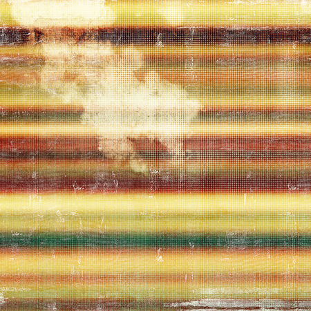 scrap: Colorful vintage background, grunge texture with scratches, stains and different color patterns: yellow (beige); brown; gray; green; red (orange); white Stock Photo